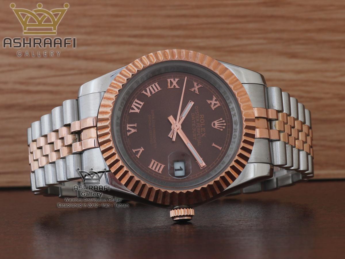 ساعت اندکس یونانی Rolex datejust Sh2D