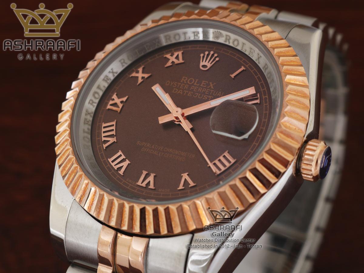 ساعت اندکس یونانی رولکس Rolex datejust Sh2D