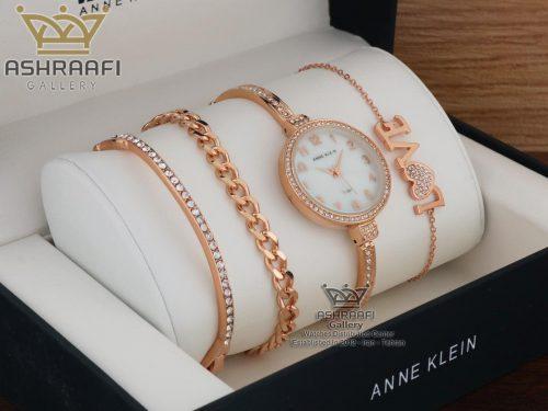 فروش ساعت آنه کلین رزگلد Anne klein SL081