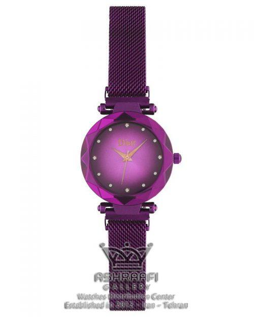 ساعت آبی رنگ دیور Dior 1801VB