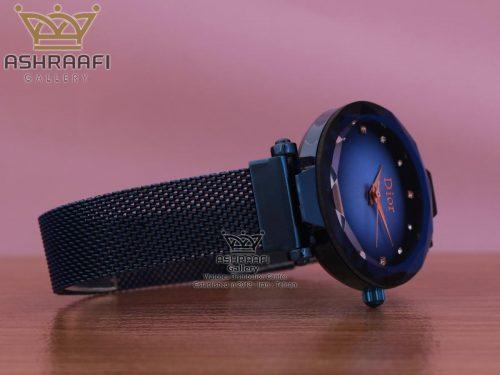ساعت بند حصیری آبی رنگ Dior 1801VB