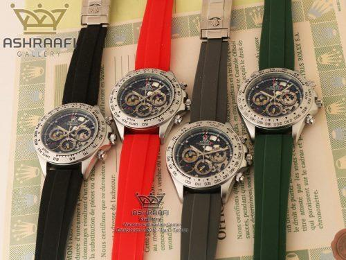 ساعت اسپرت رولکس با بندهای رنگی ROLEX Cosmograph SK7