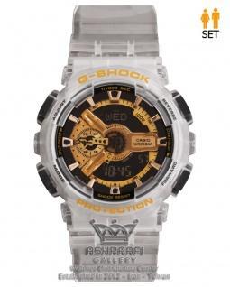 ساعت شفاف جی شاک G-shock GA-110RG