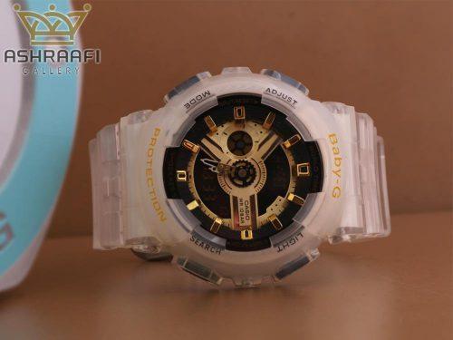 ساعت بیبی جی شیشه ای G-shock GA-110RG