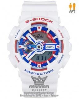 جی شاک سفید G-shock GA-110TR