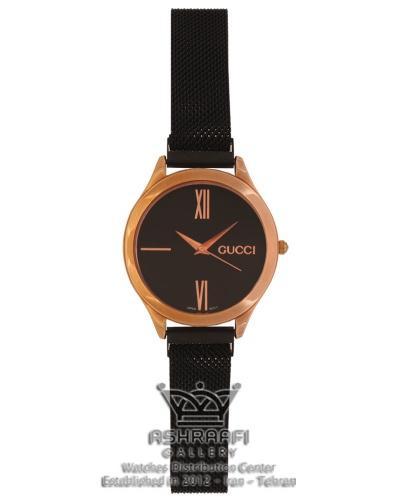ساعت گوچی زنانه بند حصیری Gucci 13507B