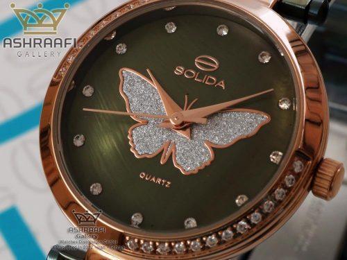 ساعت صفحه صدفی سولیدا S1127L