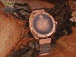 ساعت رزگلد با صفحه بژ ورساچ Versace A109