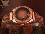 فروش ساعت زنانه ورساچه مسی رنگ Versace A109