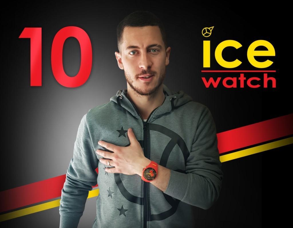 ادن هازارد نماینده Ice Watch