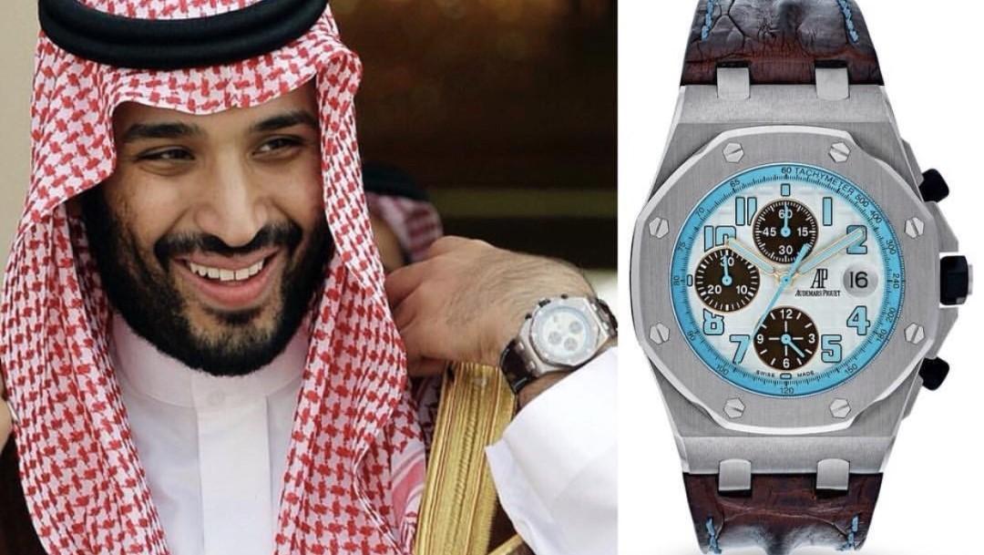 ساعت محمد بن سلمان