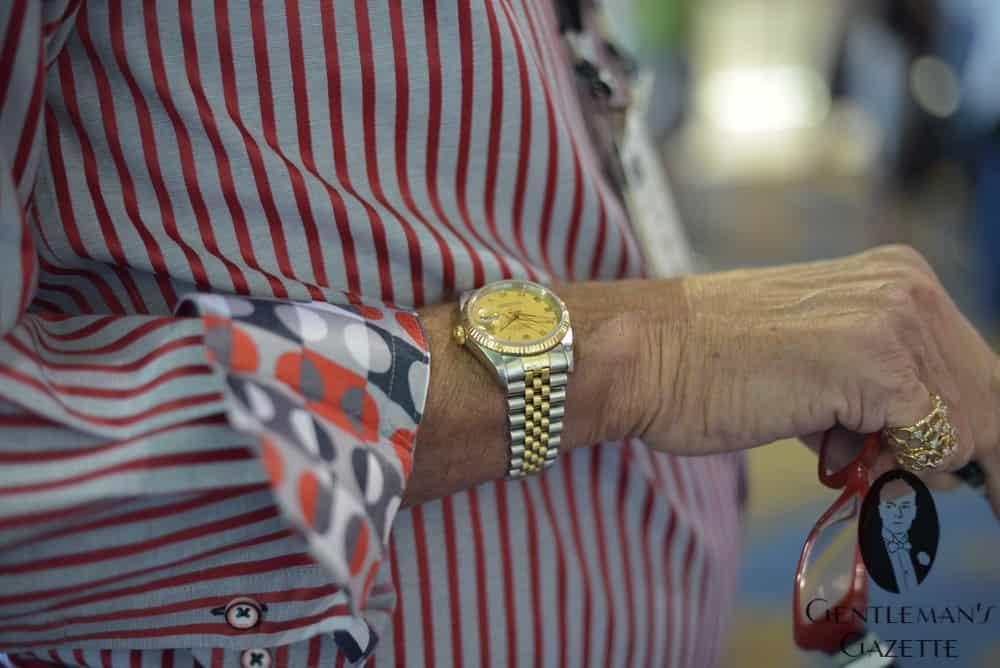 ساعت استیل طلای رولکس