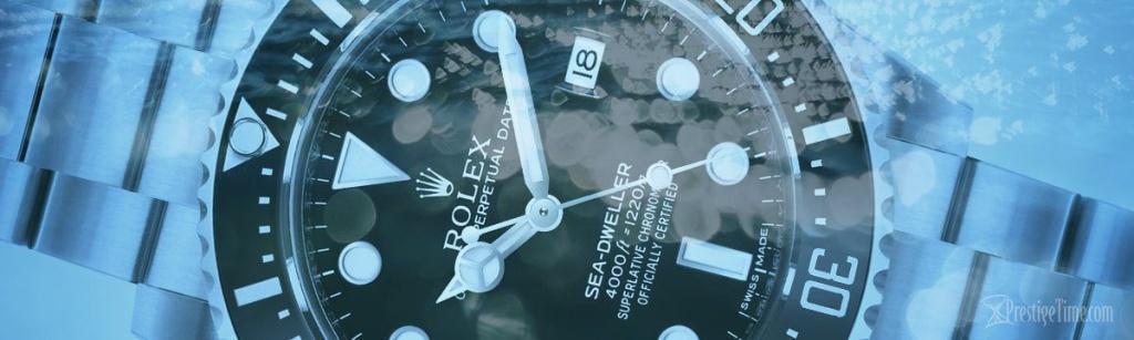 مقاومت در برابر آب ساعت های رولکس و امگا