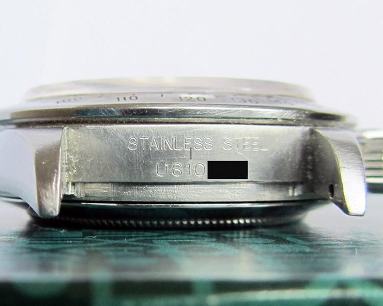 حکاکی روی ساعت قدیمی رولکس