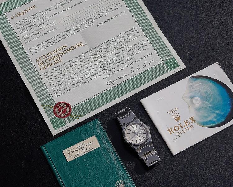 اسناد و مدارک ضروری و غیر ضروری ساعت قدیمی رولکس