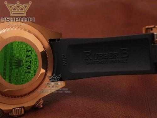 عکس از داخل بند ساعت دیتونای رولکس Rolex Cosmograph Daytona B3