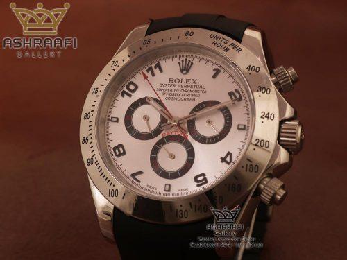 ساعت صفحه سفید سه موتوره رولکس Rolex Cosmograph Daytona B3
