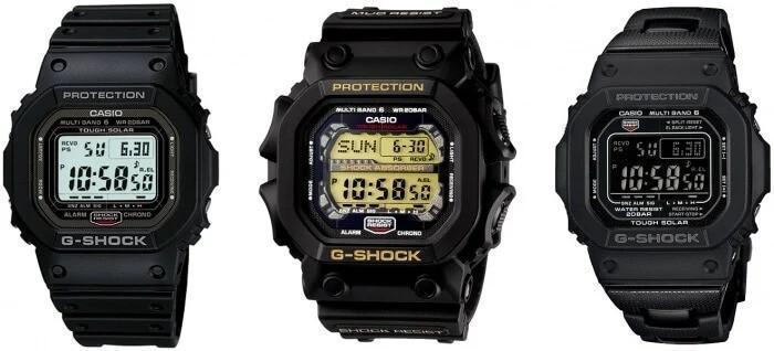 ساعتهای مخصوص G-Shock بازار داخلی ژاپن