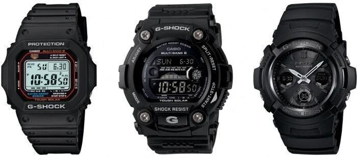 ساعتهای خورشیدی G-Shock (Solar G-Shock Watches)