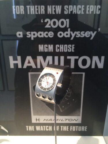 ساعت همیلتون به کار رفته در فیلم 2001 Space Odyssey