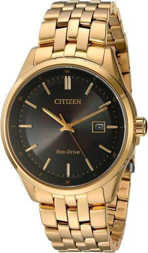 ساعت Citizen Eco-Drive با شیشه از جنس یاقوت کبود
