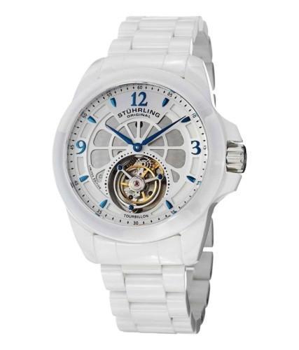 Stuhrling Original Men's Tourbillon Limited Edition Mechanical Ceramic Watch
