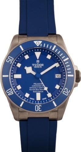 ساعت TUDOR PELAGOS TITANIUM 25600TB BLUE DIAL
