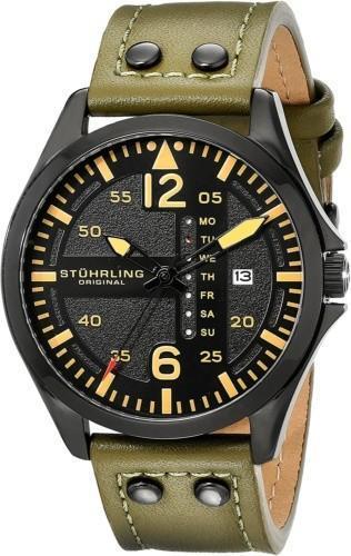 Stuhrling Original Men's 699.03 Aviator Watch