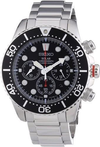 ساعت Seiko Chronograph Stainless Steel Dive – SSC015P1