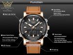 قیمت ساعت اورجینال لیگ Lige-LG-9901-06