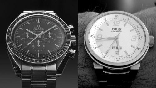 مقایسه برندهای ساعت Omega و Oris