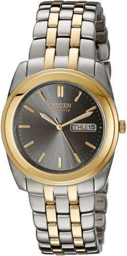 Citizen Eco-Drive Corso Two-Tone Stainless-Steel Watch BM8224-51E