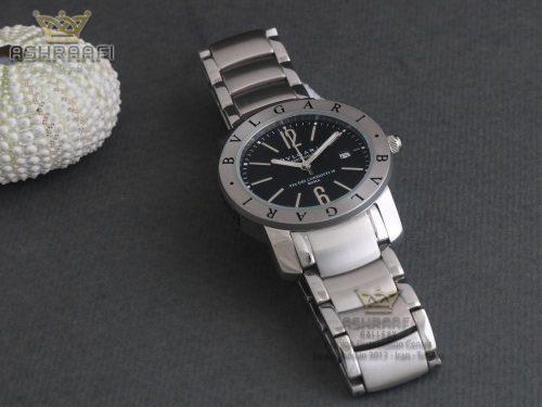 فروش ساعت مچی مردانه تمام استیل Bvlgari BB33SS