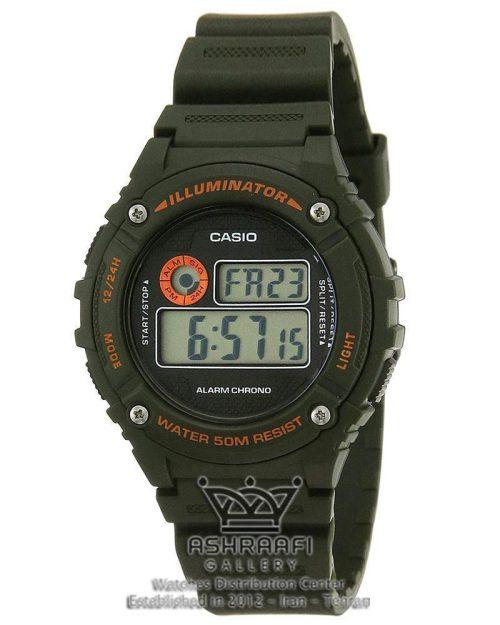 خرید ساعت اصلی کاسیو CASIO W-216H-3BVDF