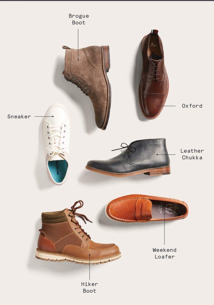 بهترین کفش پائیزه برای مردان