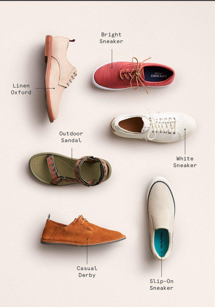 بهترین کفش تابستانه برای مردان