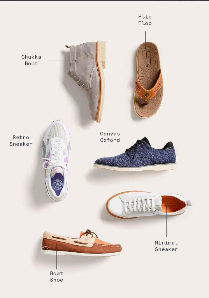 بهترین کفش بهاره برای مردان