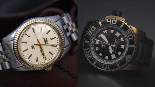 مقایسه برندهای ساعت Timex و Tissot