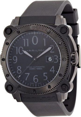 Hamilton Navy BelowZero Black Dial