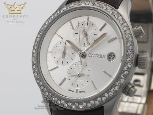 صفحه ساعت سیتیزن قاب استیل