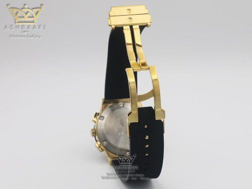 قفل ساعت هابلوت مشکی طلائی