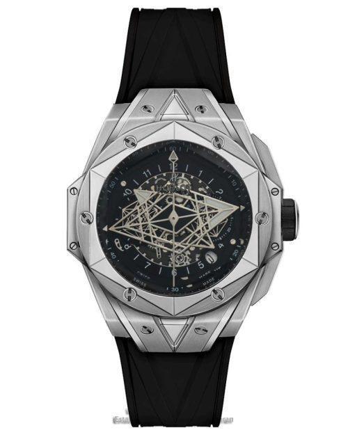 ساعت هابلوت فضایی قاب استیل