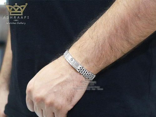 دستبند رولکس استیل رنگ جوبیلی