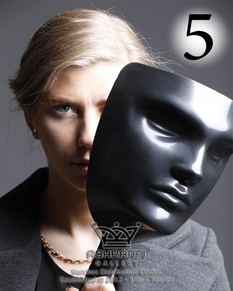 ماسک بازی مافیا مشکی – پک پنج عددی