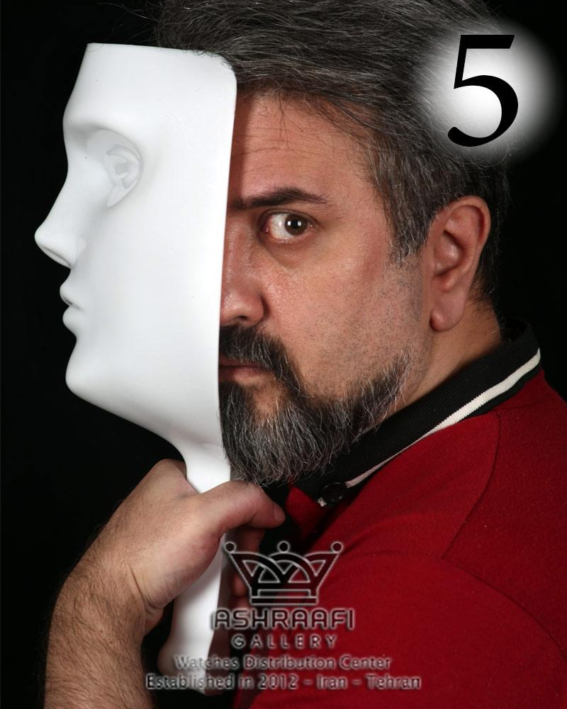 ماسک بازی مافیا سفید – پک پنج عددی