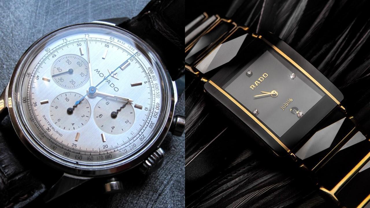 مقایسه ساعت های دو برند Rado و Movado