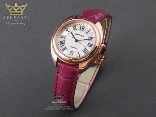 ساعت کارتیر اندکس یونانی