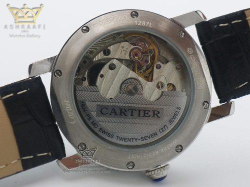 درب شیشه ای ساعت کارتیر رونده لوییس Cartier Ronde Louis BR1