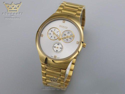 ساعت گوچی طلائی Gucci 14012