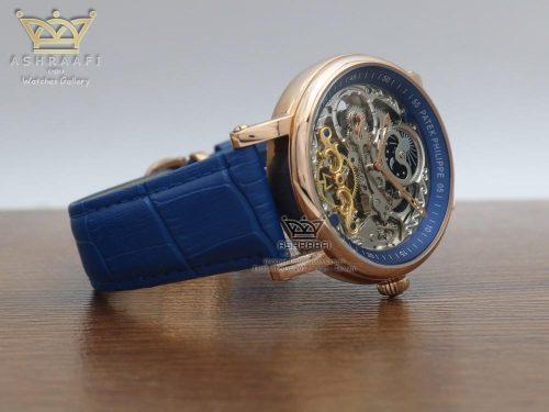 ساعت مردانه پتک فیلیپ آبی Patek Philippe P005052 RG